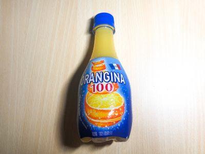 サントリーの「オランジーナ100」を飲んでみた!