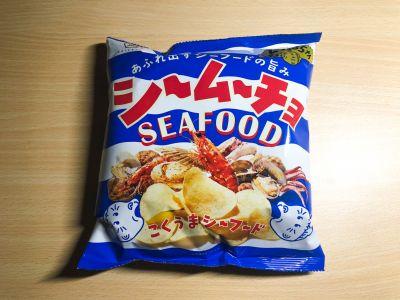 コイケヤの「シームーチョ こくうまシーフード」を食べてみた!