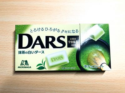 森永製菓の「抹茶の白いダース」を食べてみた!
