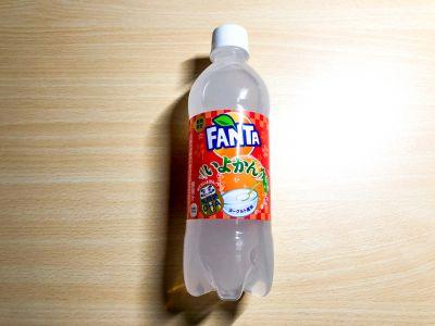 コカ・コーラの「ファンタ いよかん」を飲んでみた!