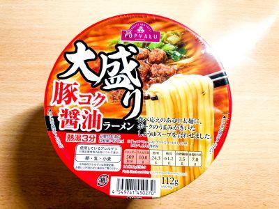 トップバリュの「大盛り 豚コク醤油ラーメン」を食べてみた!