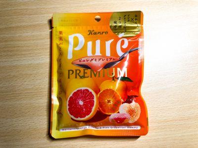 カンロの「ピュレグミプレミアム みかん&ピンクグレープフルーツ」を食べてみた!