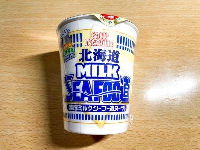 日清食品の「カップヌードル 北海道濃厚ミルクシーフー道ヌードル」を食べてみた!