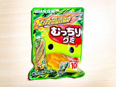 UHA味覚糖の「むっちりグミ ライフガード」を食べてみた!