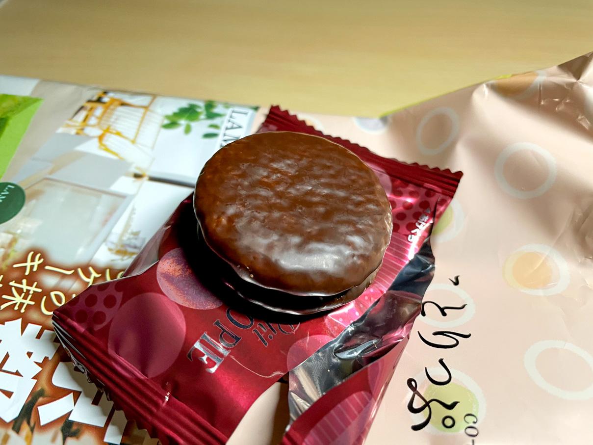 ことりっぷ プチチョコパイ ラマルクの抹茶のオペラケーキ
