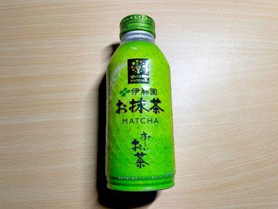 伊藤園の「お~いお茶 お抹茶」を飲んでみた!