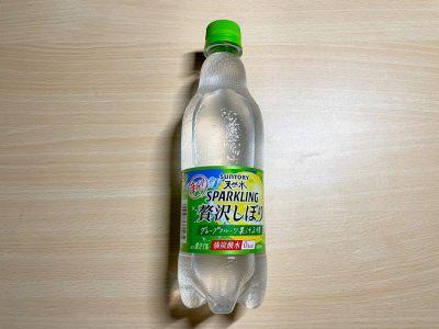 サントリーの「天然水スパークリング グレープフルーツ」を飲んでみた!