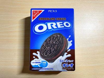 ナビスコの「オレオ チョコレートクリーム」を食べてみた!
