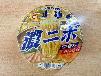 東洋水産の「マルちゃん正麺 濃ニボ」を食べてみた!
