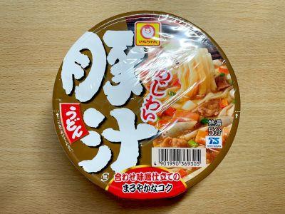 東洋水産の「マルちゃん あじわい豚汁うどん」を食べてみた!